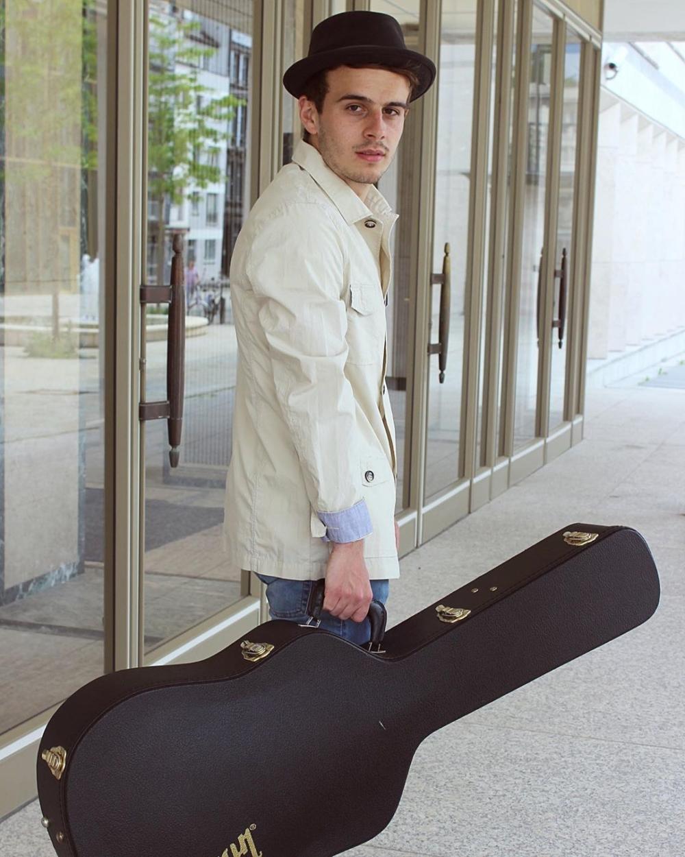Musiker Sebastian Kramm
